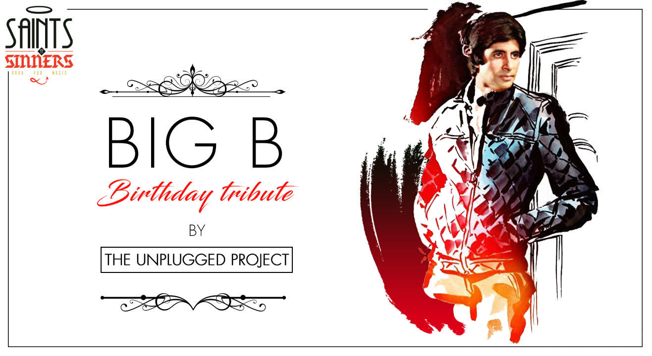 Big B Birthday Tribute Night by The Unplugged Project
