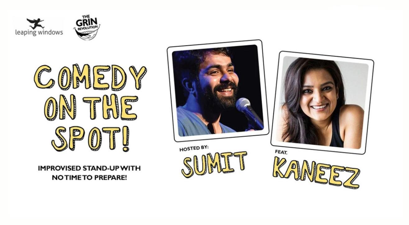 Grin Revolution: Comedy On the Spot