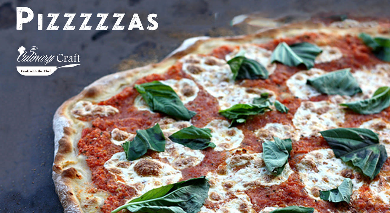Pizzzzzzas by Culinary Craft