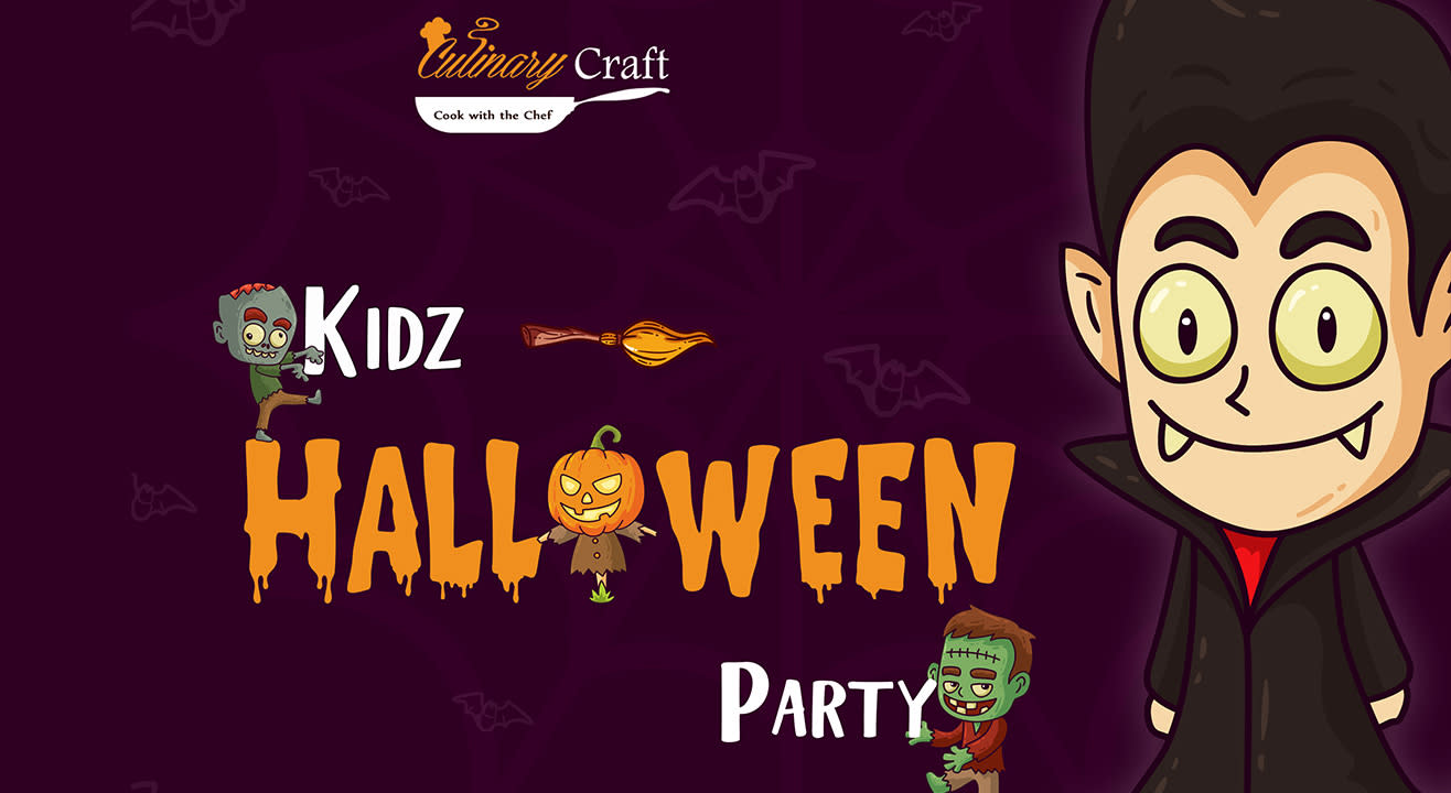 Kids Halloween Party by Culinary Craft