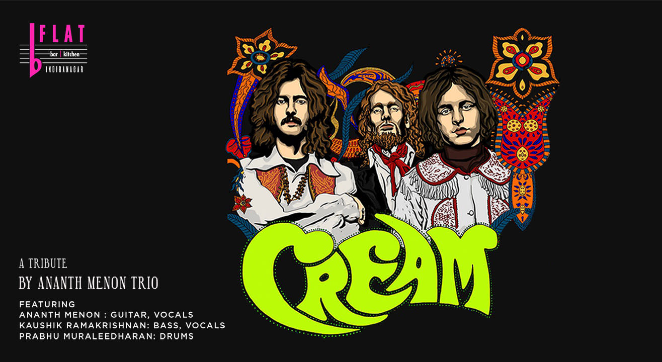 A Tribute to Cream By Ananth Menon Trio (Blues Rock/Psychedelic Rock)