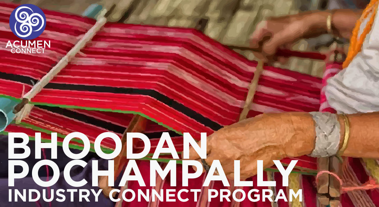 Industry Connect Program to Bhoodan Pochampally