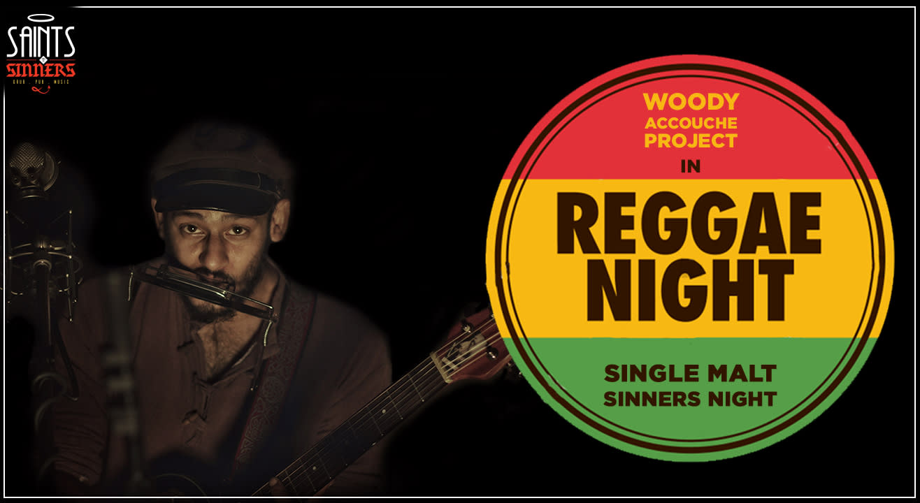Reggae Night with Woody Accouche Project