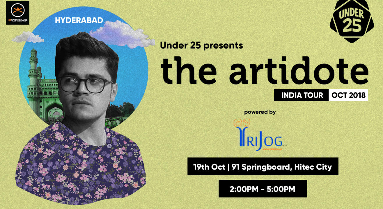 Artidote India Tour | Hyderabad