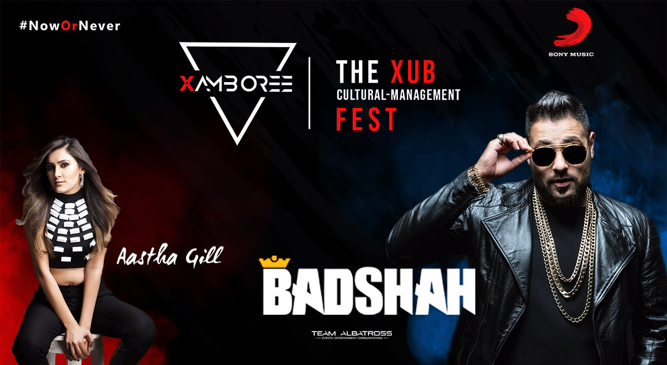 Badshah ft. Aastha Gill at Xamboree 2018