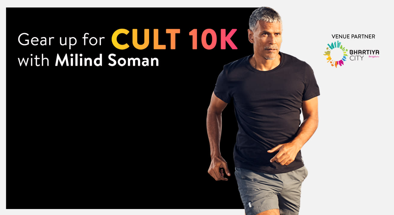 Cult 10K with Milind Soman