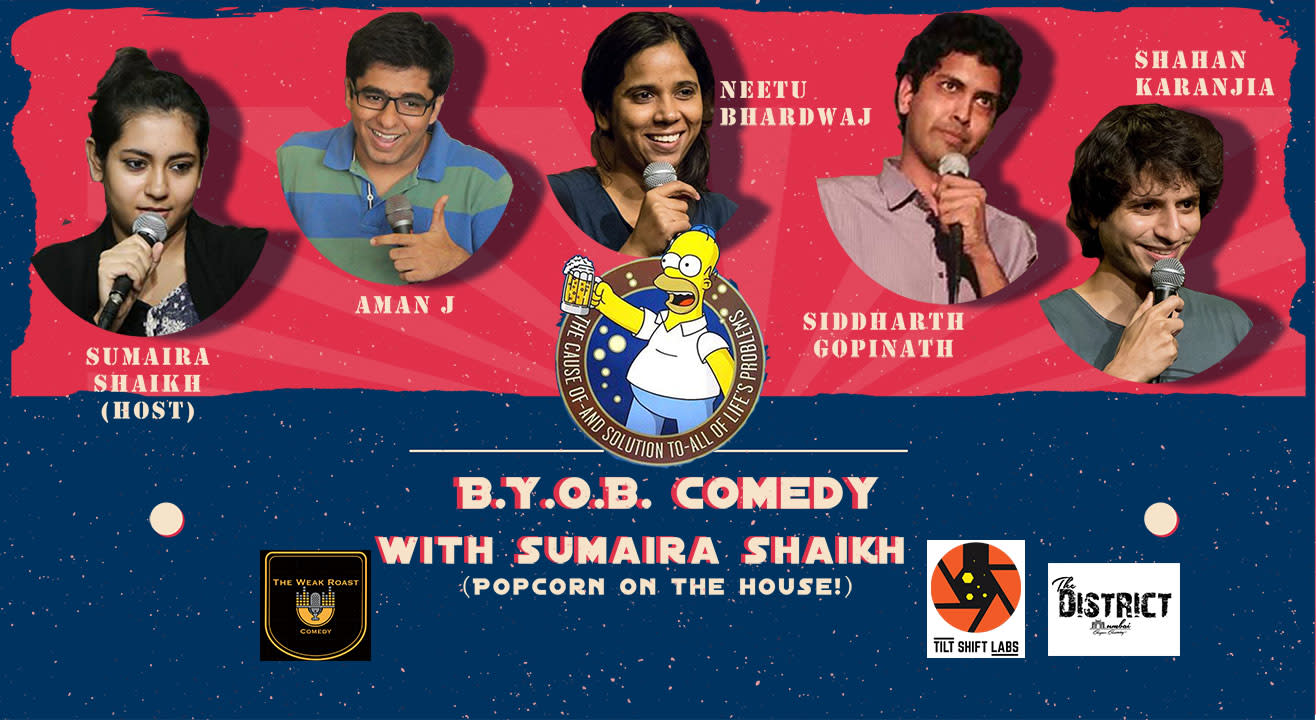 B.Y.O.B. Comedy With Sumaira Shaikh