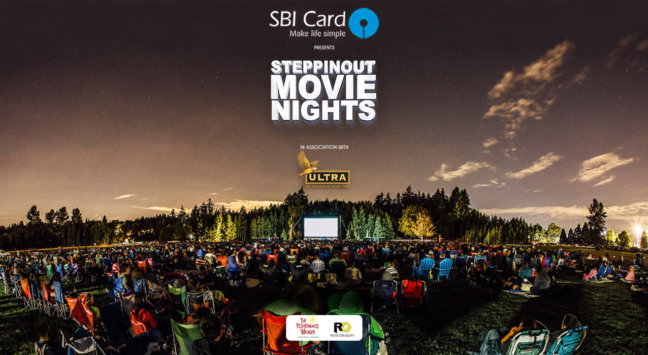 SteppinOut Movie Nights Hyderabad Edition