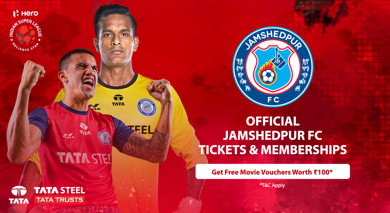 Indian Super League 2018-2019: Jamshedpur FC: Match Tickets, Memberships, Season Tickets, Ticket Offers, Schedule & More