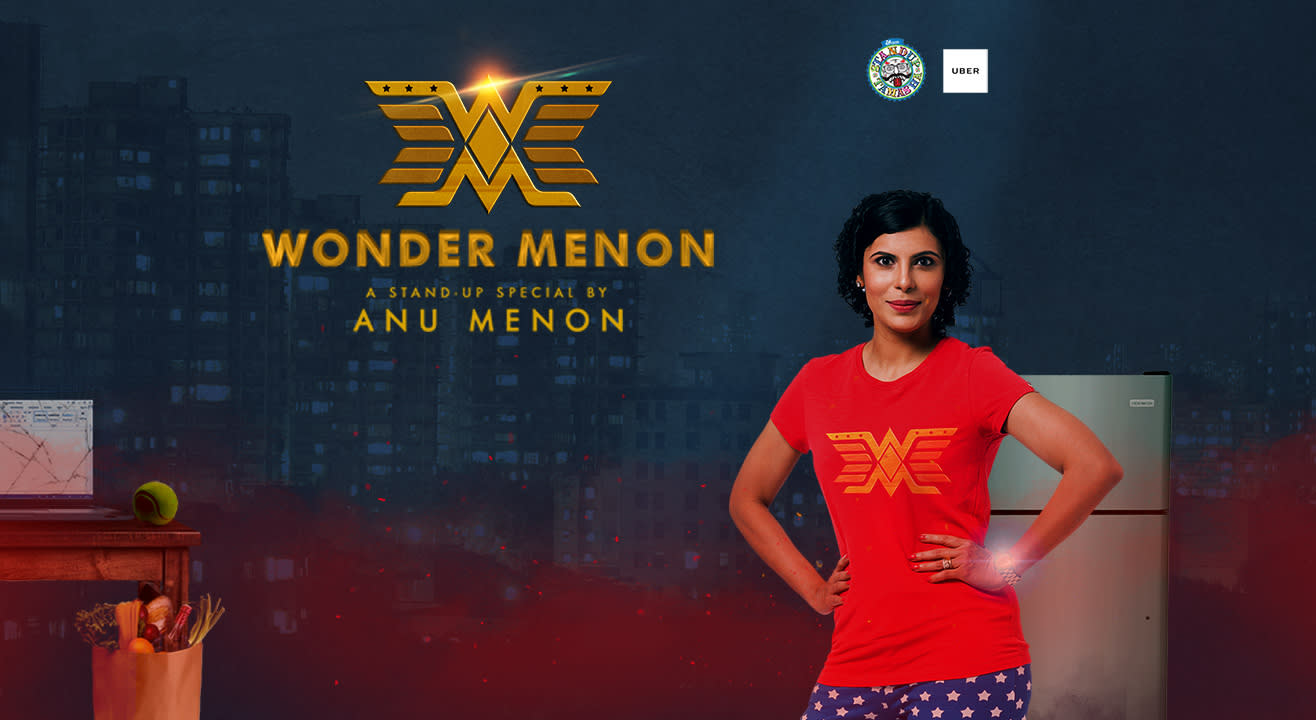 Laugh It Off | Wonder Menon (A stand-up special by Anu Menon)