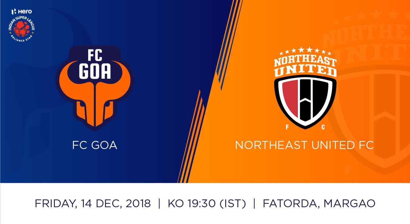 Hero Indian Super League 2018-19: FC Goa Vs NorthEast United FC