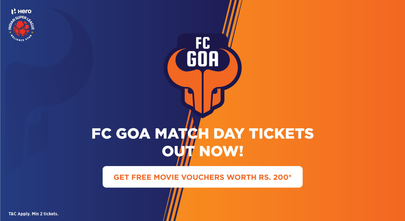 Indian Super League 2018-2019: FC Goa Match Tickets, Ticket Offers, Schedule & More #NowWeRise