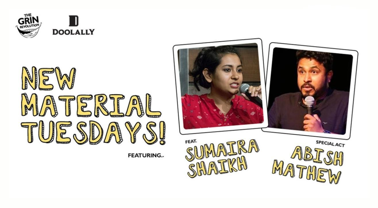 Grin Revolution: New Material Tuesdays with Raunaq and Abish Matthew