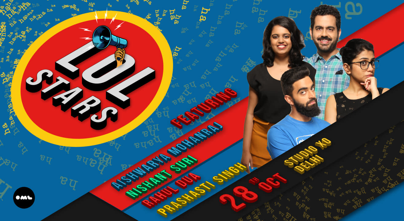 LOLStars ft Aishwarya Mohanraj, Nishant Suri, Rahul Dua and Prashasti Singh, Delhi