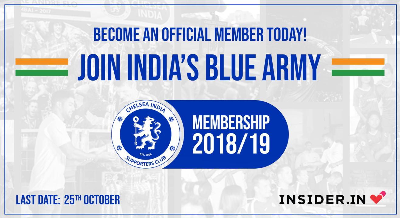 Chelsea India Membership 2018-19