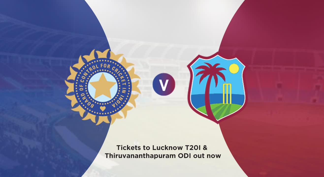 India v West Indies Cricket Matches: October & November 2018