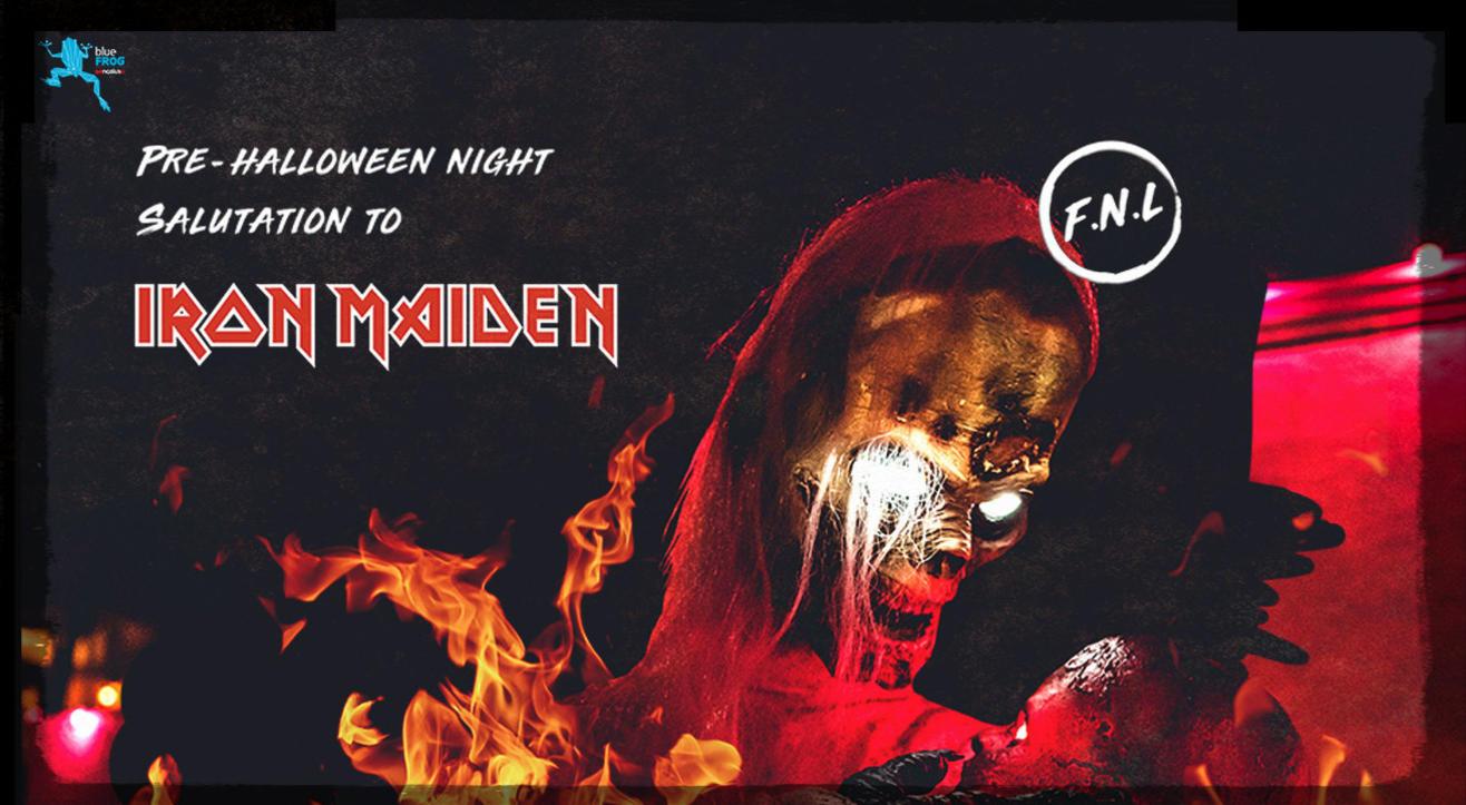 friday night live pre halloween- salutation to iron maiden