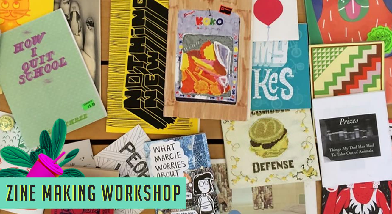 Write it - Draw it - Paste it - Zine Making Workshop at The Lil Flea
