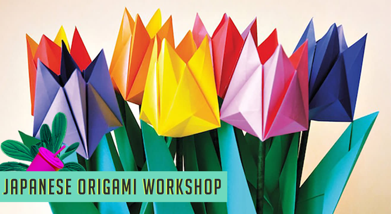 Easy to Make Japanese Origami At The Lil Flea
