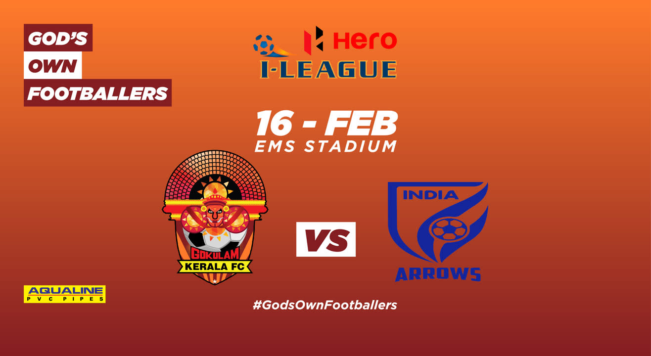 Hero I-League 2018-19: Gokulam Kerala FC vs Indian Arrows
