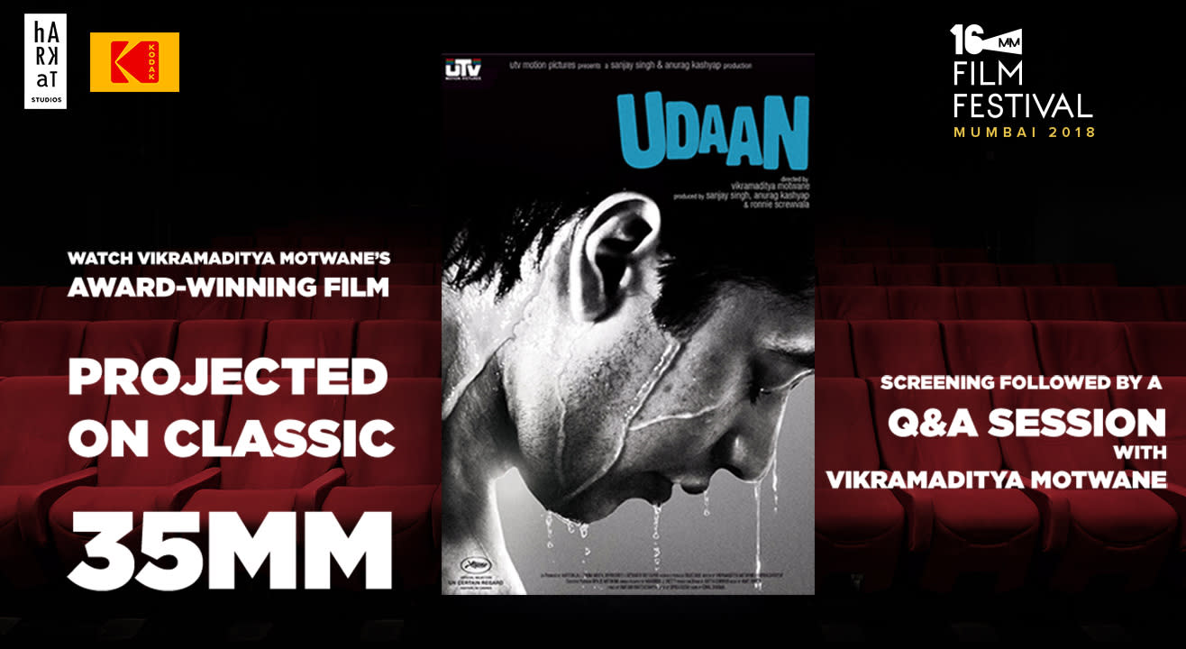Film Screening - Udaan (on original 35 mm)