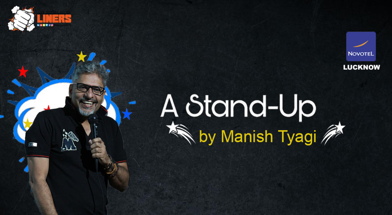 PunchLiners: Standup Comedy Show ft. Manish Tyagi in Lucknow