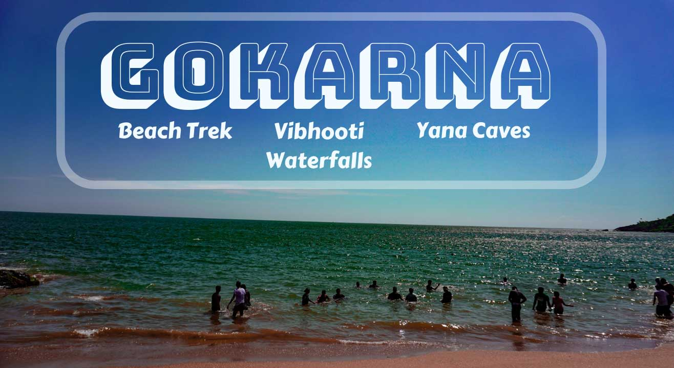 Gokarna Beach Trek with Vibhooti Waterfalls | Muddie Trails
