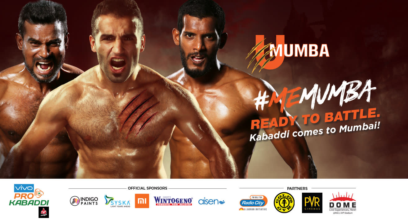 VIVO Pro Kabaddi 2018-19: U Mumba Tickets, schedule, squad & more!