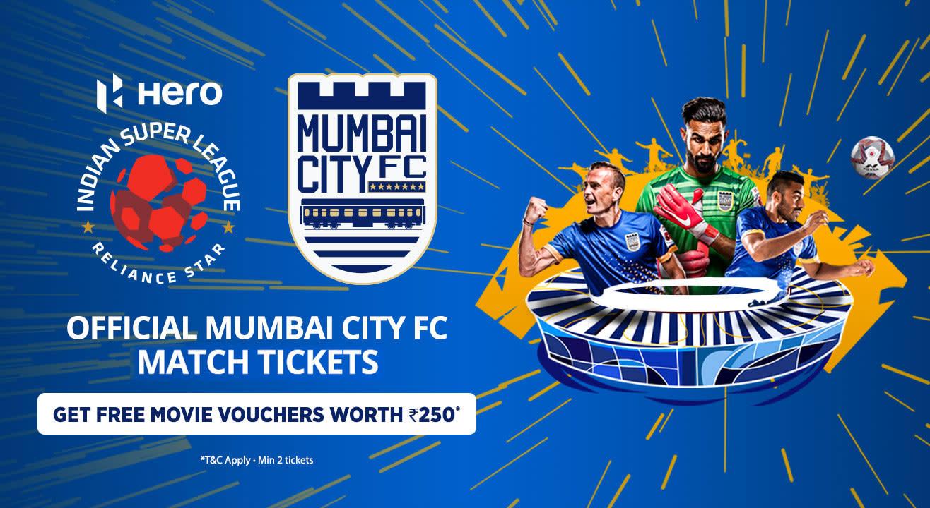 Indian Super League 2018-2019: Mumbai City FC: Match Tickets, Ticket Offers, Schedule & More