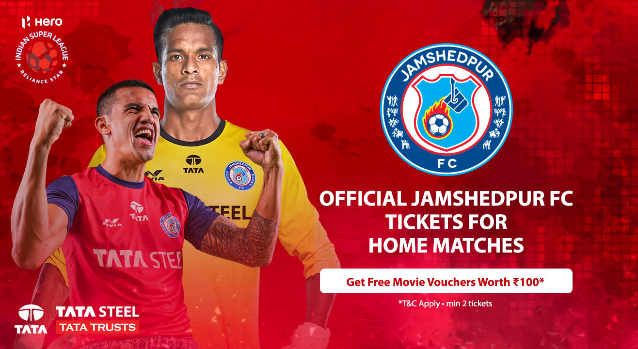 Indian Super League 2018-2019: Jamshedpur FC: Match Tickets, Season Tickets, Ticket Offers, Schedule & More