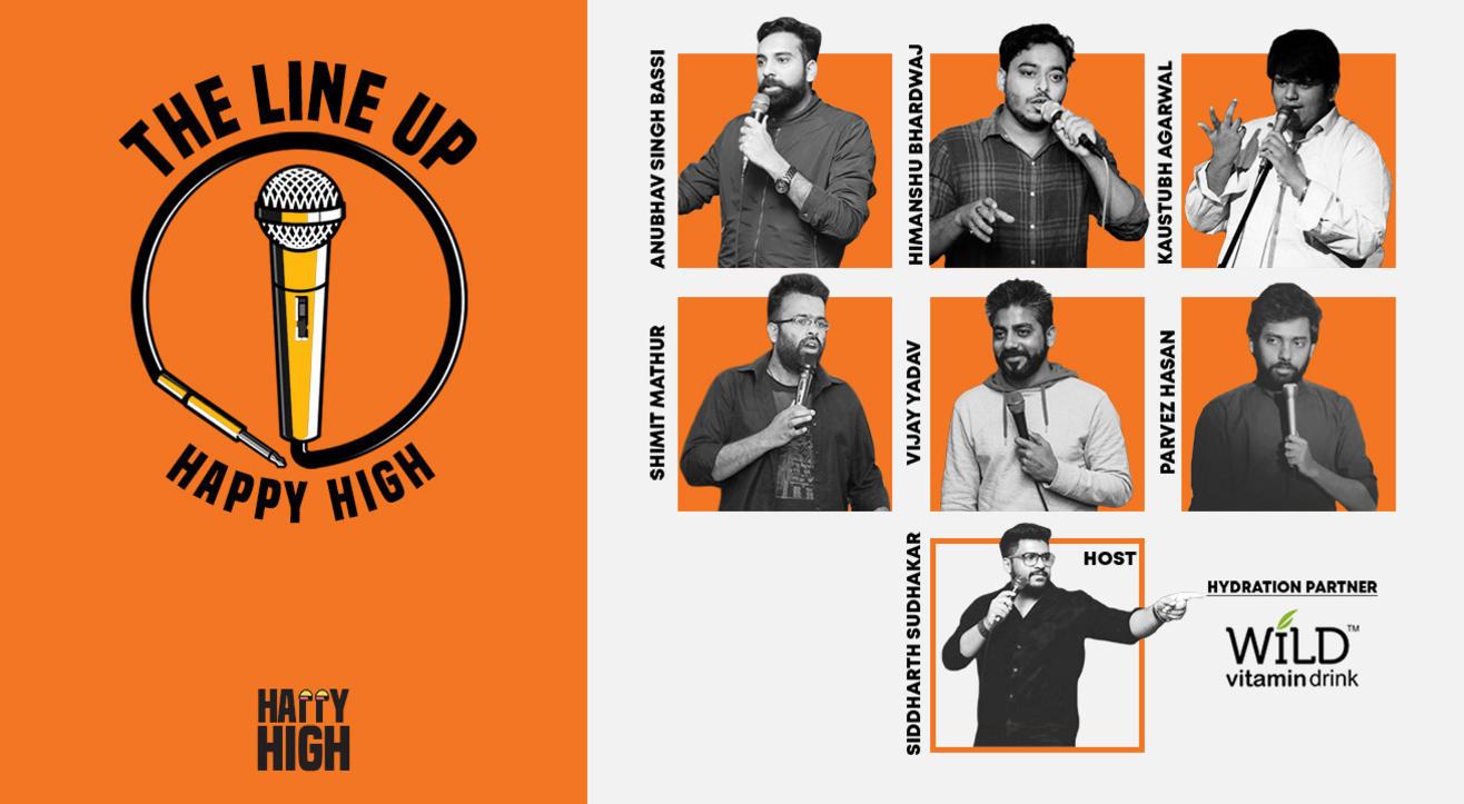 The Line Up – Happy High   Nov 17