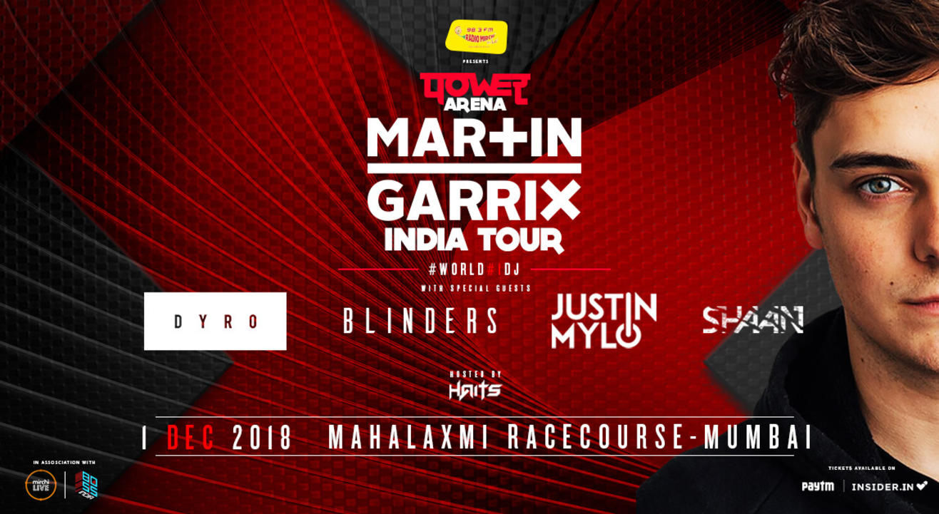 Power Arena - Martin Garrix India Tour, Mumbai