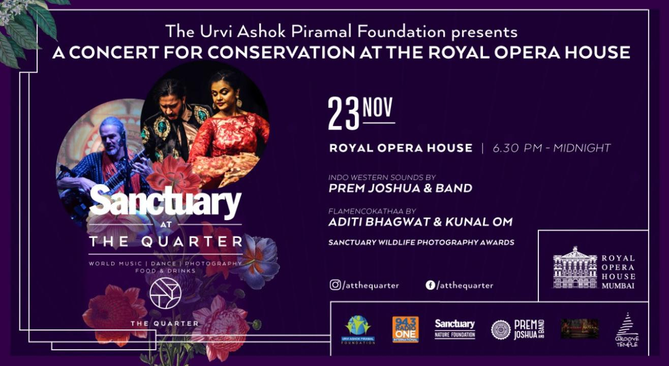 Sanctuary At the Quarter: A Concert For Conservation