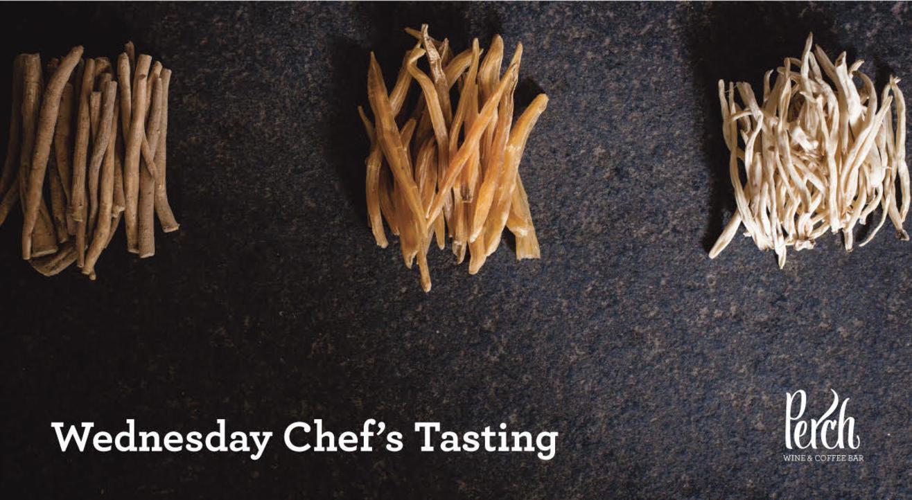 Wednesday Chef's Tasting: 28th November