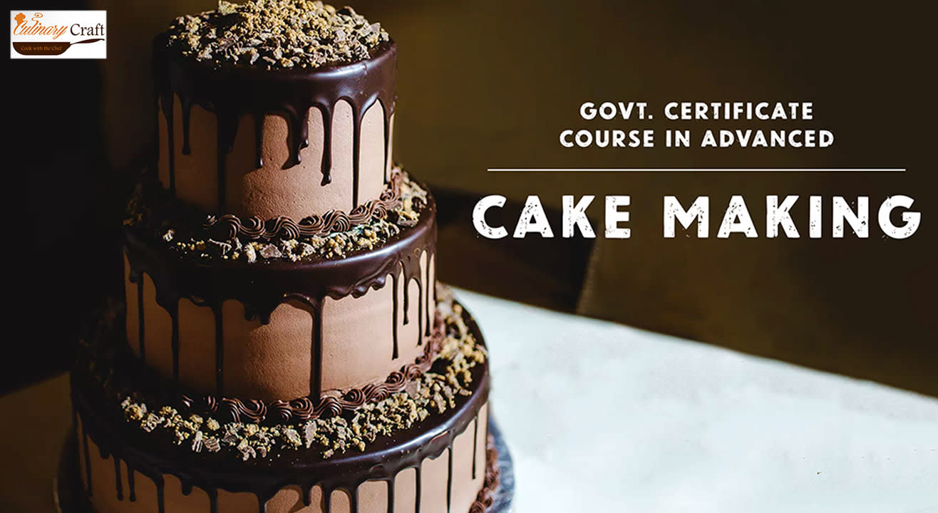 Government Certificate Course In Advanced Cake Making 7 Days