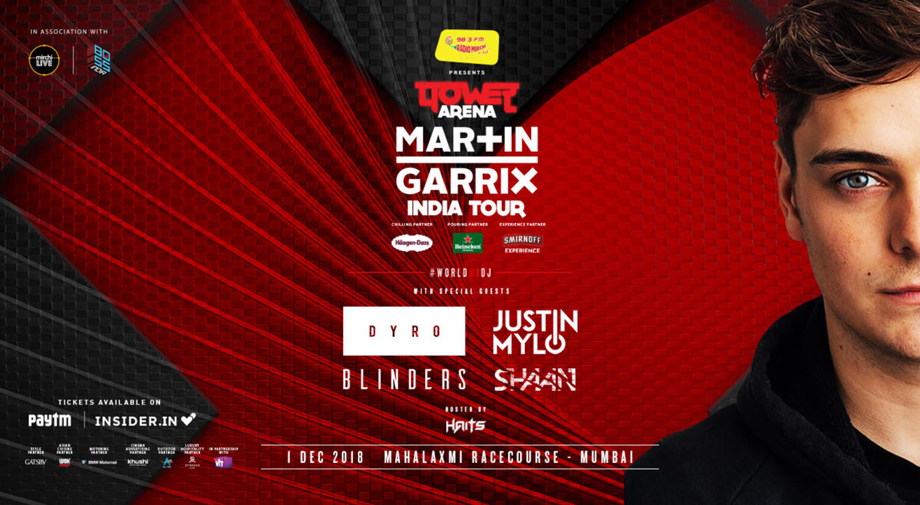 Power Arena - Martin Garrix India Tour, Mumbai