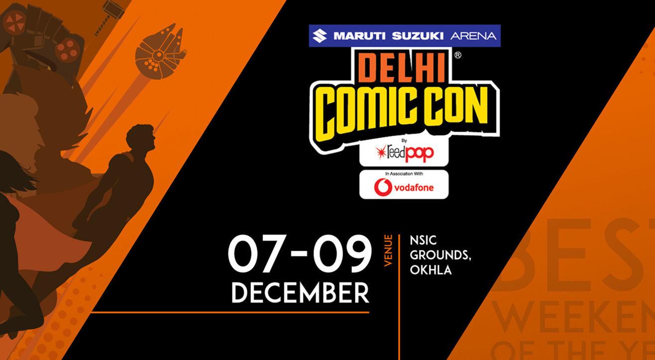 Delhi Comic Con, 2018
