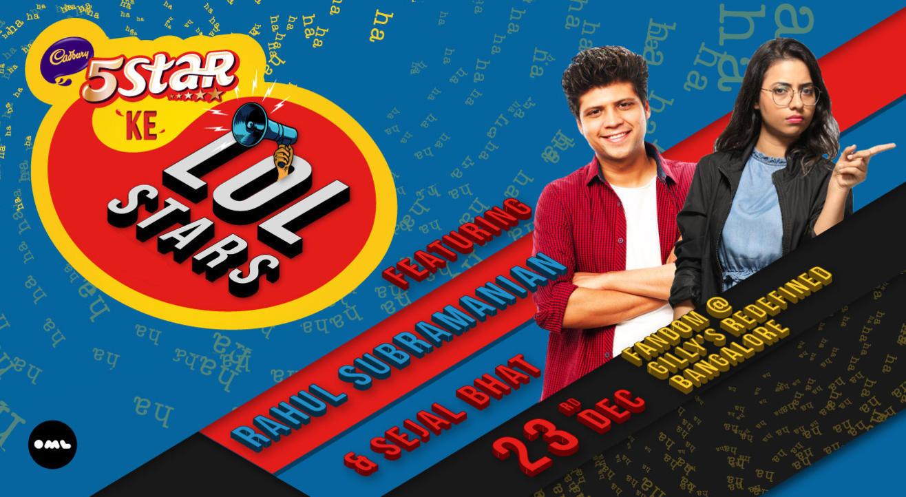 5 Star Ke LOLStars Ft Rahul Subramanian and Sejal Bhat