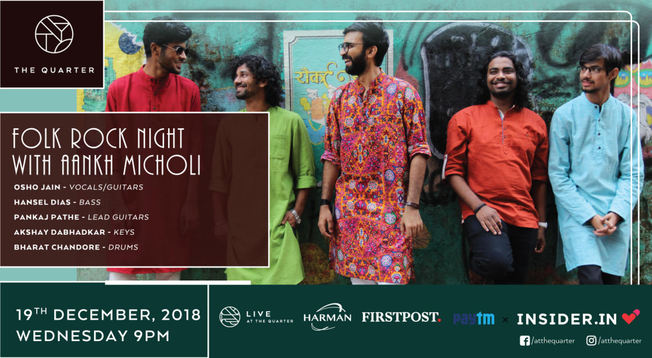Folk Rock Night with Aankh Micholi at The Quarter