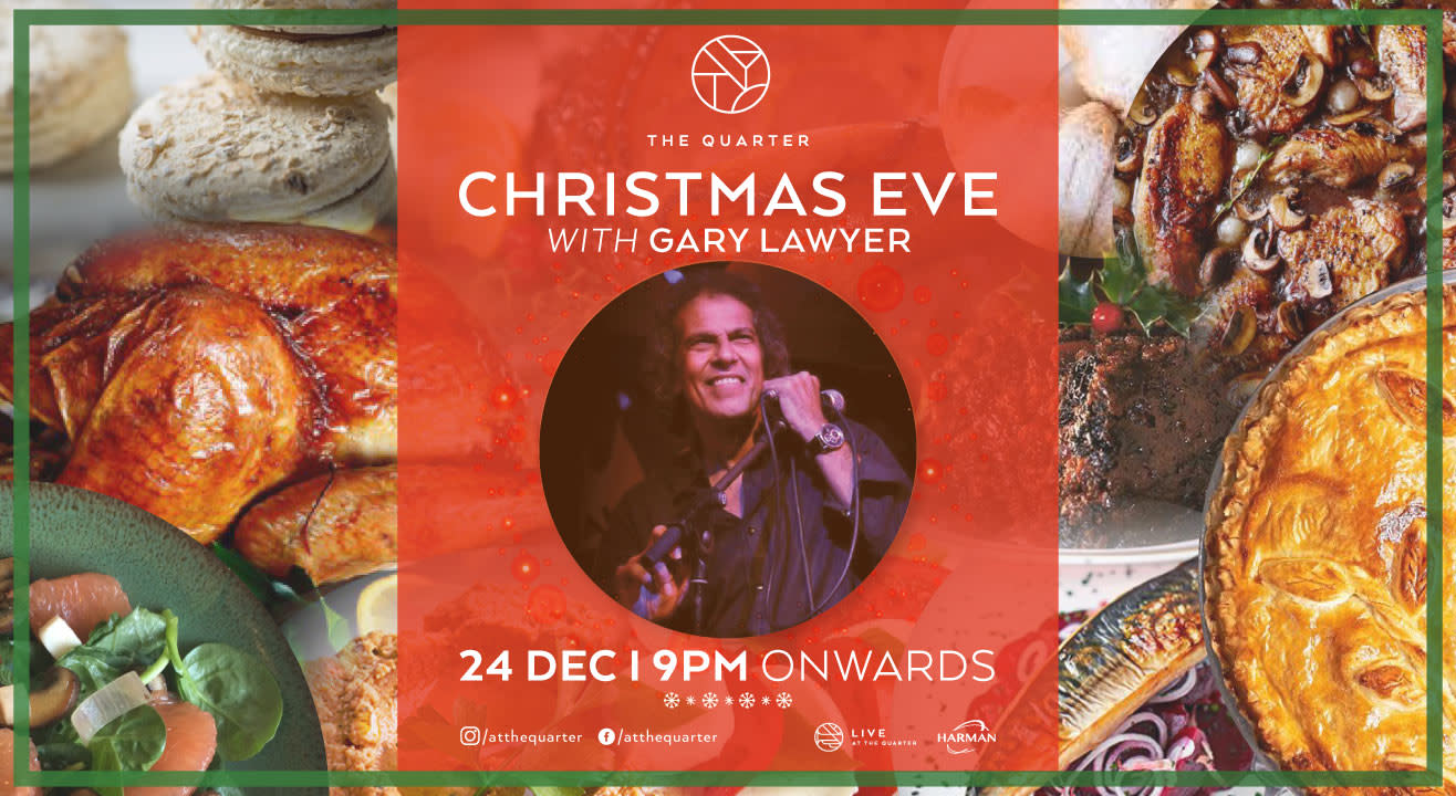 Christmas Eve with Gary Lawyer at The Quarter