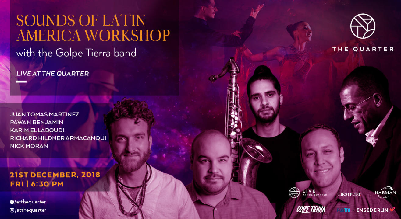 Sounds of Latin America Workshop - With the members of Golpe Tierra