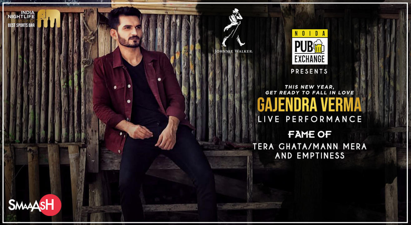 Gajendra Verma Live at SMAAASH - Mall Of India, Noida