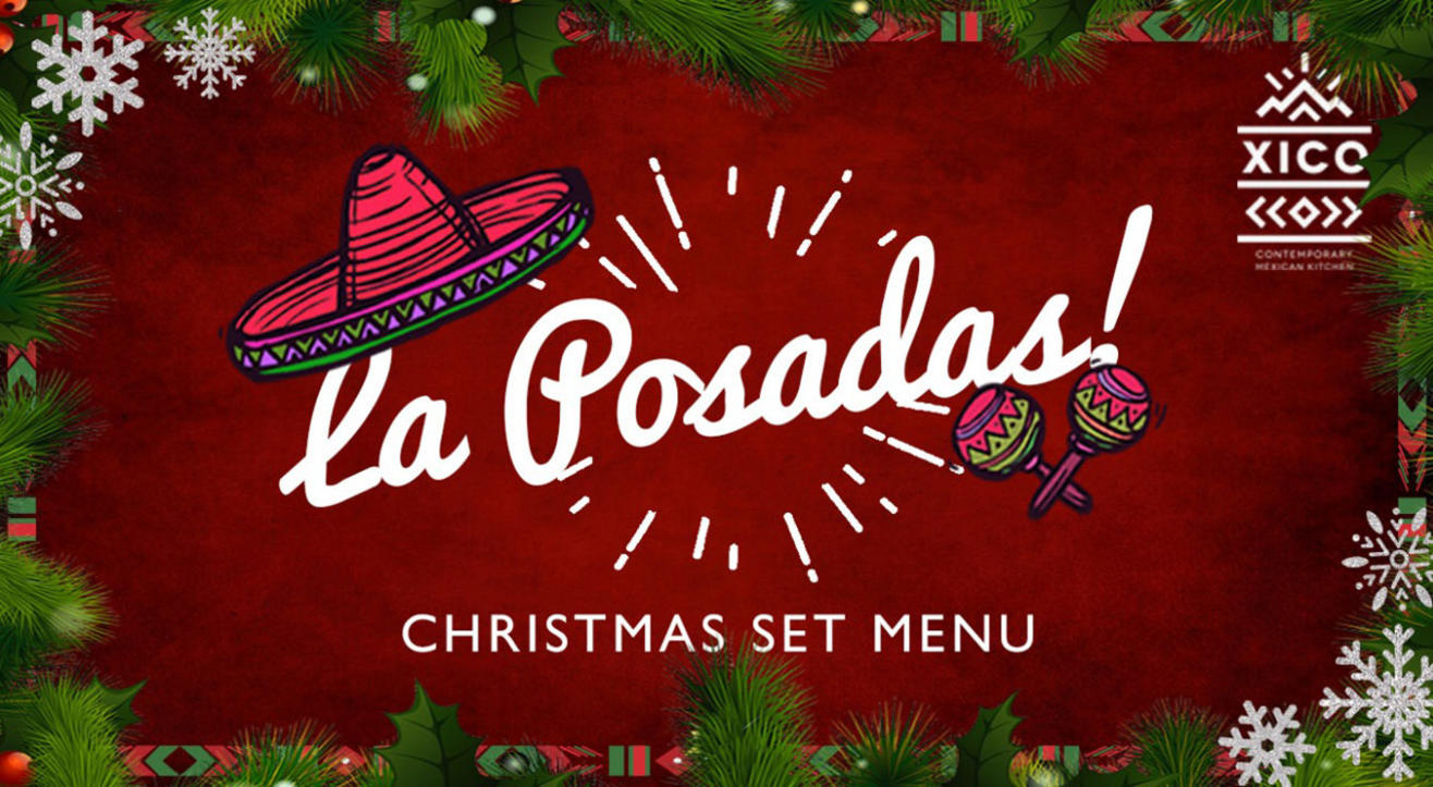 La Posadas – Christmas Set Menu