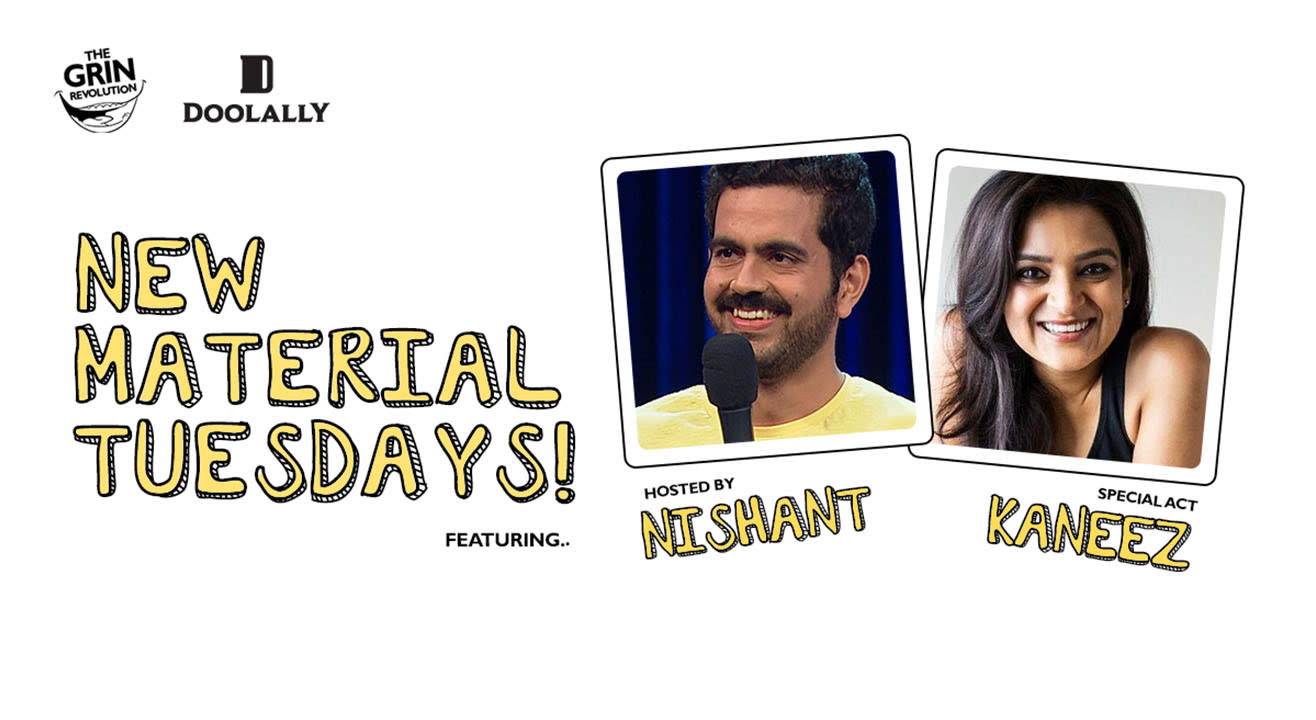Grin Revolution: New Material Tuesdays w/ Nishant Suri