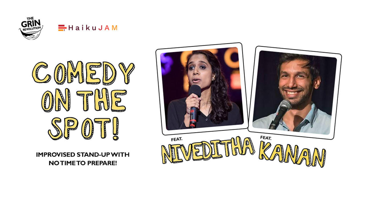 Grin Revolution: Comedy On the Spot w/ Kanan Gill