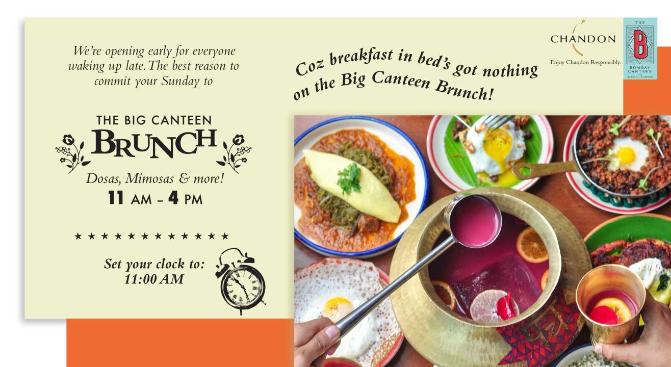 The Big Canteen Brunch