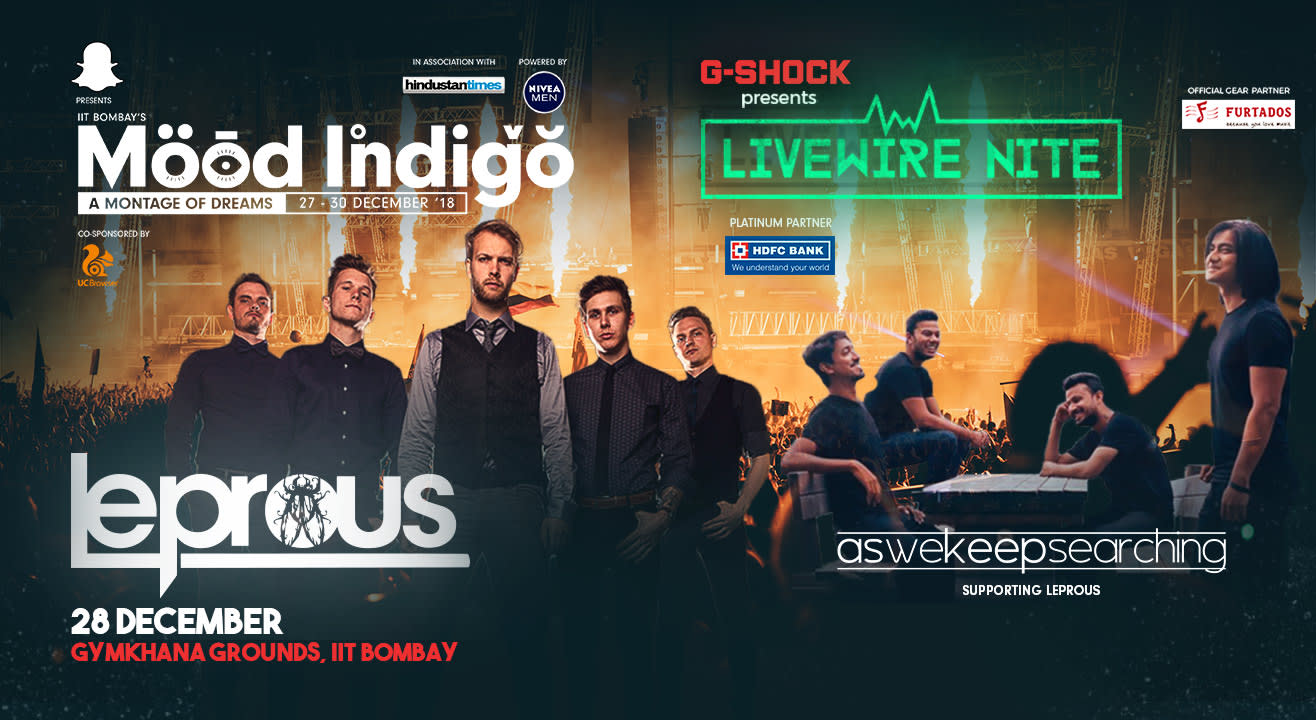 Leprous at Livewire Nite, Mood Indigo | aswekeepsearching Opening Act