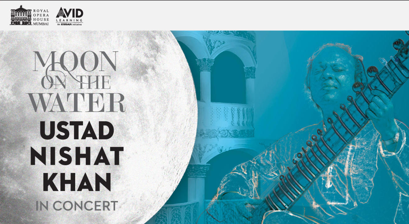 Moon on the Water : Ustad Nishat Khan in Concert
