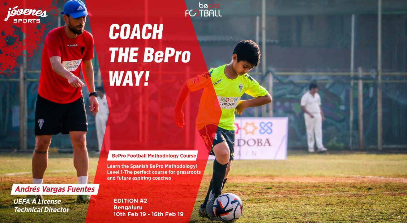 BePro Football Methodology Course – Level 1