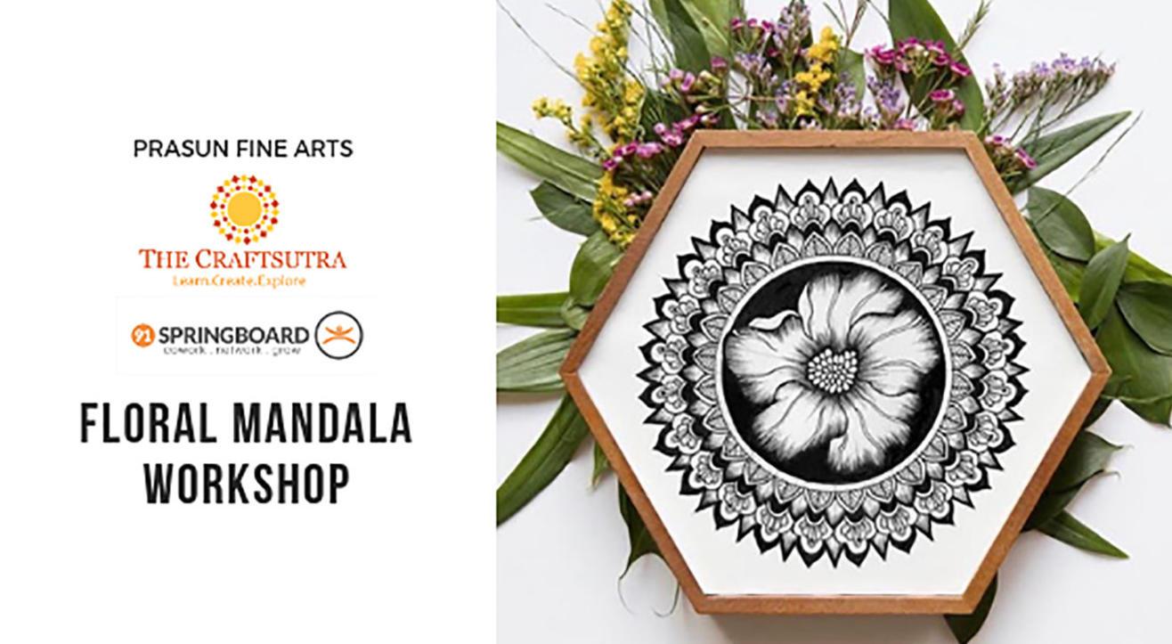 Floral Mandala Art Workshop